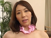 Strong pussy solo at home by Shouda Chisato
