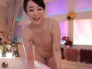 Hot Asian mature loves cock more than enough
