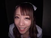 Mashiro Airi in kinky blowjob fun indoors