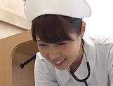 Spicy nurse pleasures a throbbing dick picture 11