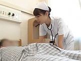 Spicy nurse pleasures a throbbing dick picture 13