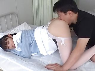 Iioka Kanako enjoys a sleazy dick riding action