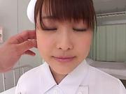 Isumi Nonoka enjoys a stunning rear fuck