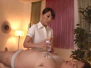 Kashii Ria is a Japanese masseuse
