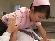 Sexy Aio Mizutani loves getting freaky with her boss