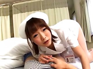 Japanese nurse pleases patient with sensual XXX
