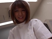 Kamiya Ruri handles a fat dick doggy-style