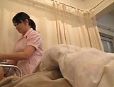 Horny nurse doing an impressive dick riding picture 6