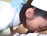 Iioka Kanako gets a messy cum in mouth picture 13