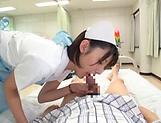 Iioka Kanako gets a messy cum in mouth