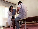 Japanese nurse needs a hardcore fuck