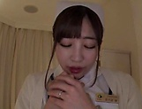 Amazing Japanese nurse had hardcore sex picture 2