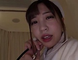 Amazing Japanese nurse had hardcore sex picture 8
