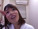 Sensual handjob session involving spicy Kawakami Nanami