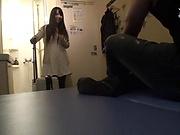 Sexy nurse sucks and fucks with horny patient