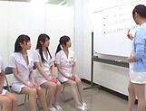 Lovely nurse shows her sex prowess