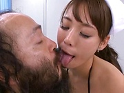 An Takase giving this huge cocks proper head