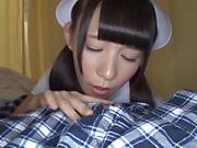 Tokyo nurse fucked hard and deep