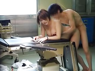 Hot curvaceous nurse gets her tight twat licked and drilled