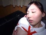 Egami Shiho,gets pleasured by her sex toys
