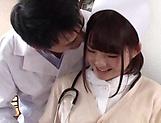 Amazing Japanese nurse is very excited