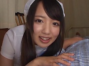 Kinky nurse creamed after erotic fuck