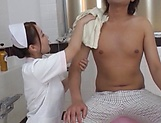 Kinky Tokyo nurse enjoys hardcore sex in a bath with her patient