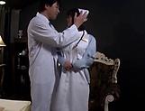 Amazing Japanese nurse is being naughty