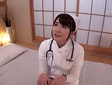 Japanese nurse likes to wear stockings