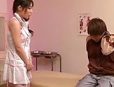 Yumi Kazama plays hot with a patient during insane XXX