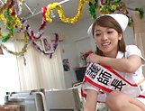 Intense nurse porn scenes with hot Shiina Sora picture 12