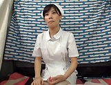 Gorgeous Asian nurse in kinky sexual fun indoors picture 14