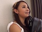 Gorgeous Japanese model enjoys smashing adult fantasy
