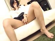 Alluring Asian vixen in nice hardcore fuck indoors