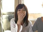 Cute hardcore beauty Mizuna Wakatsuki enjoys being fisted