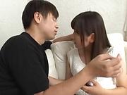 Bewitching Kawasaki Arisa awesome sex with hunk stud