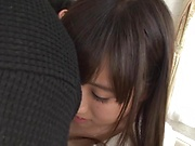 Bewitching Kawasaki Arisa awesome sex with hunk stud