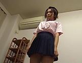 Hot schoolgirl is charging for blowjobs