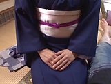 Sexy Japanese milf shows off fucking in hard scenes