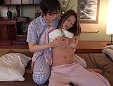 Fukiishi Rena ,rewarded with a worthy creampie