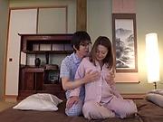 Fukiishi Rena ,gets a worthy creamed pussy