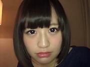 Hazuki Moe gets her wet muff filled with cum