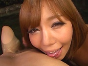 Hot Asian honey loves when her cunt gets pounded hard