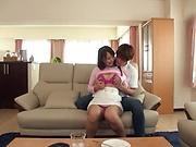 Kawana Minori got hot pink lingerie