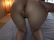 Most amazing POV fuck with a tight Japanese av model