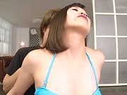Kinky Japanese milf is fucking her ex