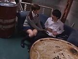 Kinky Japanese schoolgirl loves deep kinky fingering picture 11
