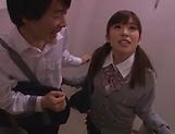 Kinky Japanese schoolgirl loves deep kinky fingering