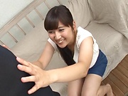 Busty vixen Kawasaki Arisa has wild dick pleasing skills