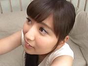 Busty vixen Kawasaki Arisa has wild dick pleasing skills